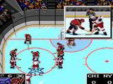 NHLPA Hockey '93 - Nintendo Super NES