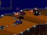 Rock n' Roll Racing - Sega Genesis