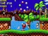 Sonic & Knuckles + Sonic The Hedgehog 2 - Sega Genesis