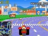 The Simpsons - Road Rage - Nintendo Game Boy Advance
