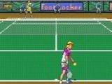 David Cranes Amazing Tennis - Sega Genesis