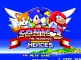 Sonic the Hedgehog 2 Heroes - Sega Genesis