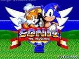 Sonic the Hedgehog 2 the Long Version - Sega Genesis