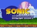 Sonic The Hedgehog Megamix - Sega Genesis