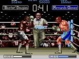 James Buster Douglas Knockout Boxing - Sega Genesis