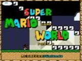 Super Mario Dark World (Part 2) (Hack) - Nintendo Super NES