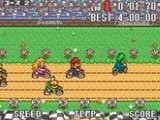 Excitebike Bunbun Mario Battle Stadium - Nintendo Super NES