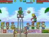 Inazuma Serve da!! Super Beach Volley - Nintendo Super NES