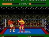 James 'Buster' Douglas Knockout Boxing - Sega Master System