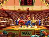 The Kick Boxing - NEC PC Engine CD